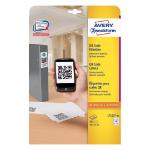 Avery L7121-25 self-adhesive label Square Permanent White 500 pc(s)