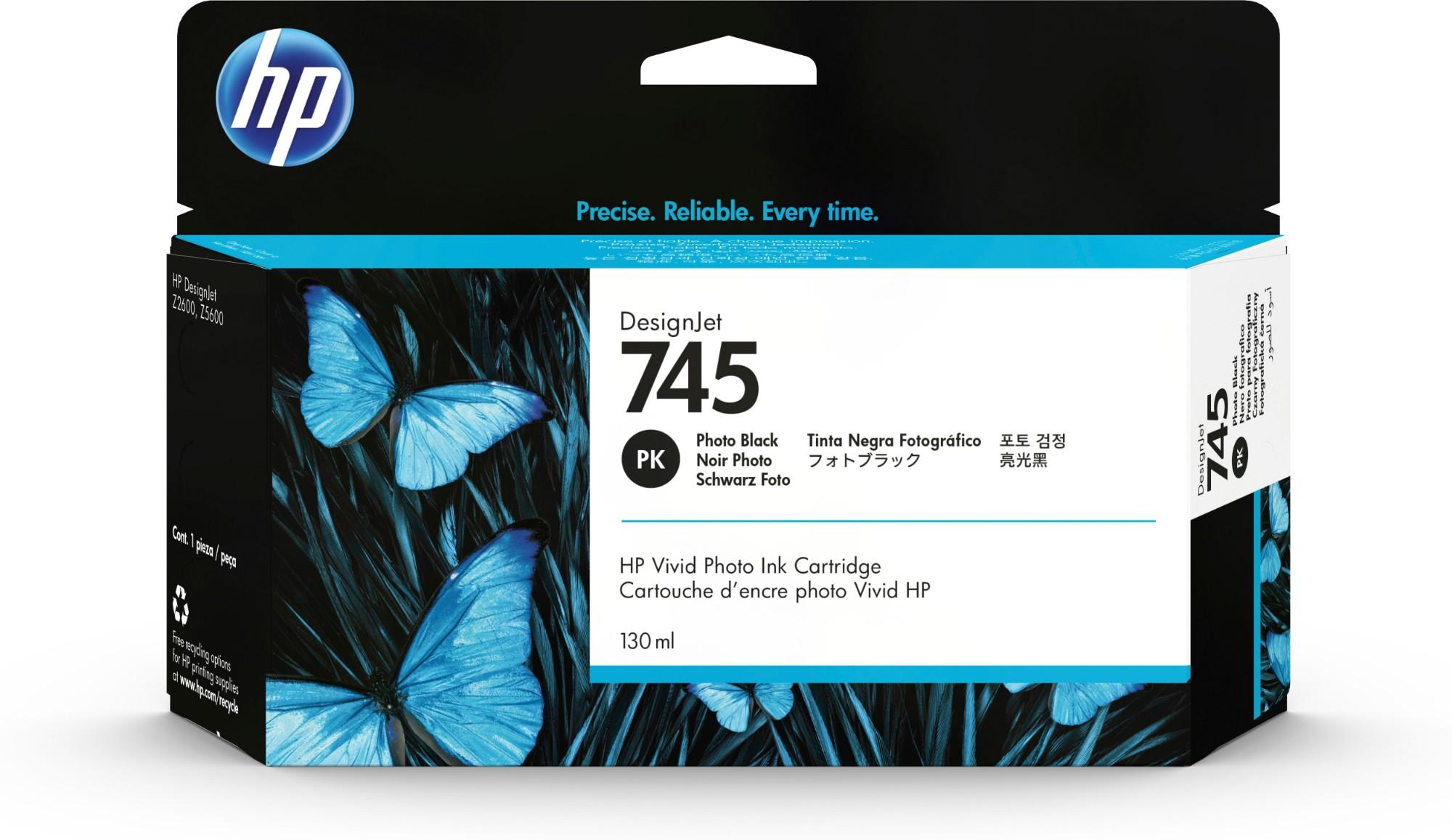 HP 745 Original Foto negro Rendimiento estándar