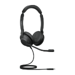 Jabra Evolve2 30, MS Stereo Headset Head-band USB Type-C Black