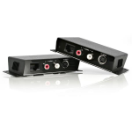 StarTech.com S-Video Video Extender over Cat 5 with Audio
