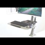 Digitus DA-90381 multimediawagen & -steun Metallic Vlakke paneel Multimediawagentje