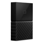 Western Digital My Passport 2000GB Black external hard drive