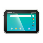 "Panasonic Toughbook FZ-L1 17.8 cm (7"") Qualcomm Snapdragon 2 GB 16 GB 802.11a 4G LTE Black, Silver Android 8.1"