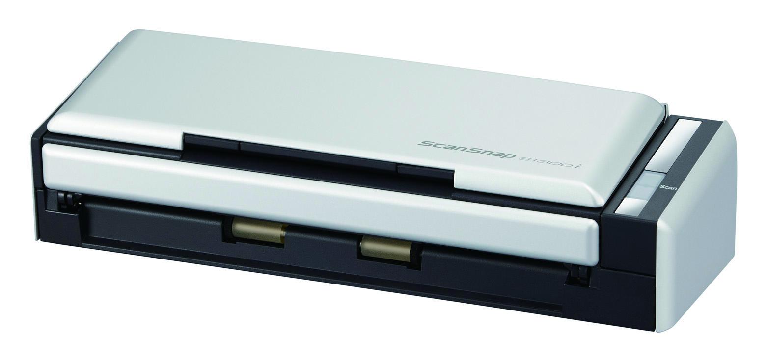 Fujitsu ScanSnap S1300i ADF scanner 600 x 600 DPI A4 Black, Silver