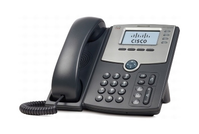 Cisco SPA 504G Wired handset LCD IP phone