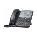 Cisco SPA 504G IP phone Wired handset LCD