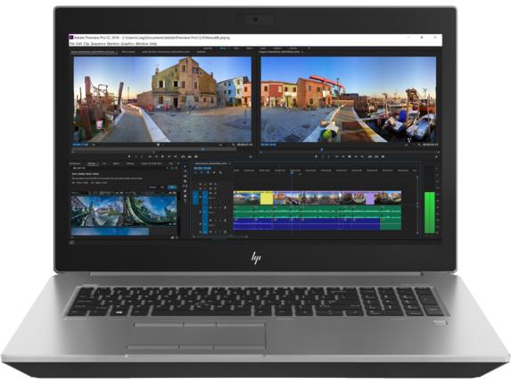 HP ZBook 17 G5 Silver Mobile workstation 43.9 cm (17.3