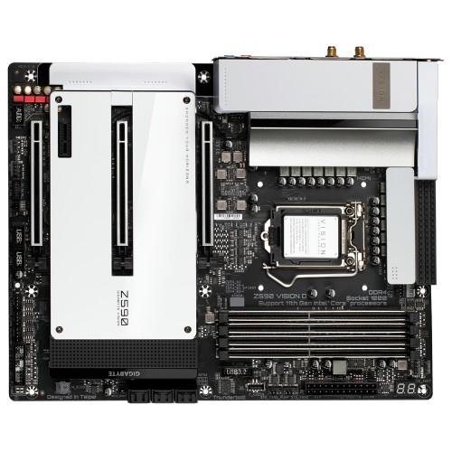 Gigabyte Z590 VISION D motherboard Intel Z590 Express LGA 1200 ATX