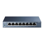 TP-LINK TL-SG108 network switch Unmanaged Black