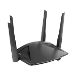 D-Link DIR-X1860 wireless router Dual-band (2.4 GHz / 5 GHz) Gigabit Ethernet Black