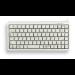 CHERRY Compact Keyboard, QWERTY, 83 keys, Combi USB/PS2, Light Grey