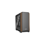 be quiet! Silent Base 601 Window computer case Midi-Tower Black,Orange
