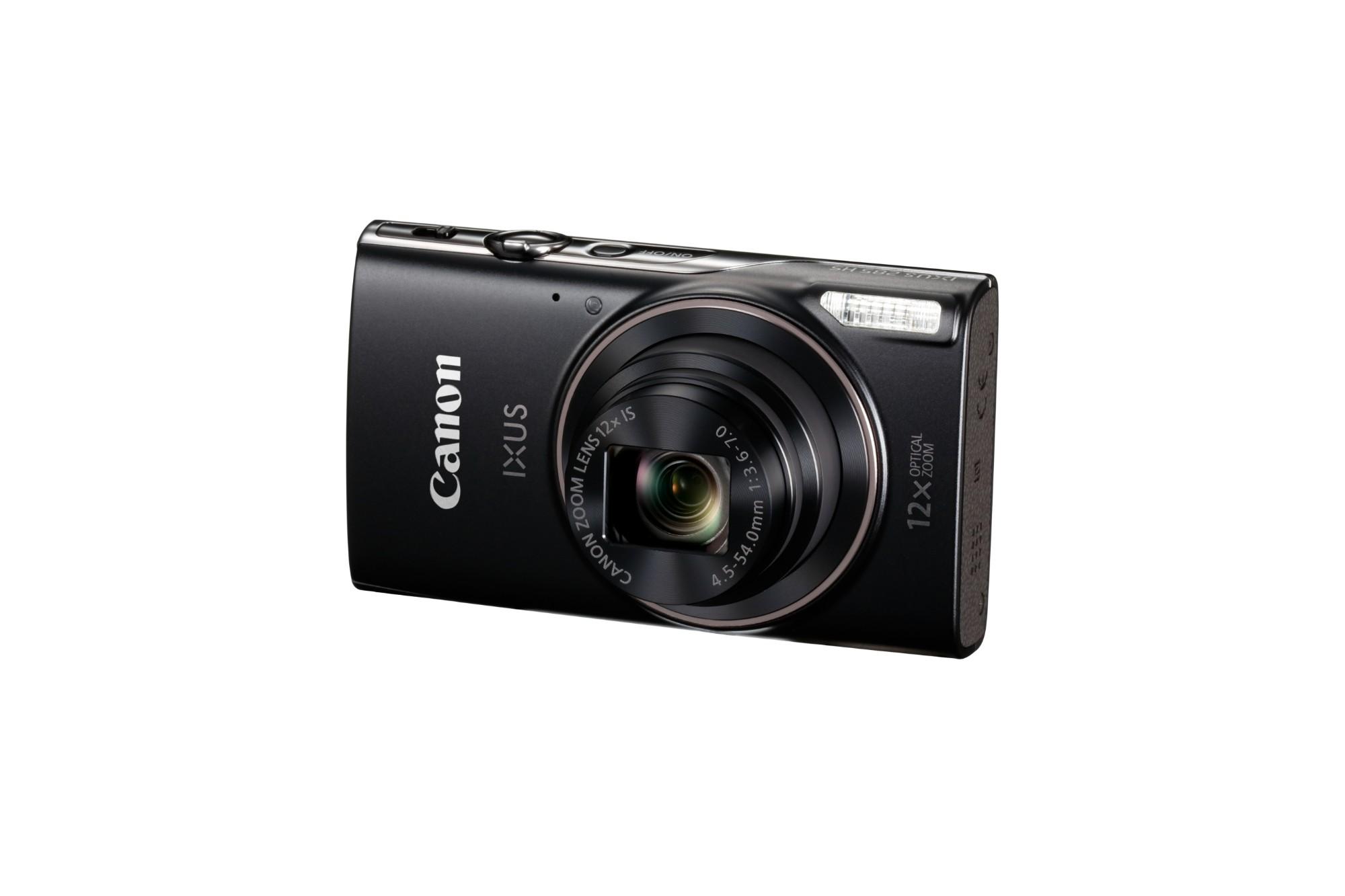 Digital Camera Ixus 285 20.2mpix 12xozoom 3in Black
