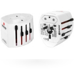 Microconnect PETRAVEL13 Universal Universal White power plug adapter