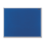 Nobo Basic Fixed bulletin board Blue Felt