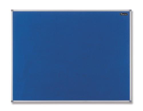 Nobo Basic Fixed bulletin board Blue Felt