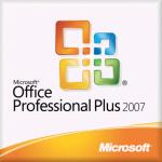 Microsoft Office Professional Plus 2007, Sngl, L/SA, OLV-NL, 3Y Acq Y1, AP