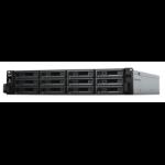 Synology RX1217RP disk array 48 TB Rack (2U) Black, Grey