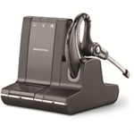 Plantronics Savi W730 mobile headset Monaural Ear-hook Black Wireless