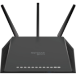 Netgear RS400 router inalámbrico Doble banda (2,4 GHz / 5 GHz) Gigabit Ethernet Negro