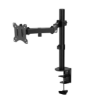 "Amer Networks EZCLAMP monitor mount / stand 32"" Bolt-through Black"