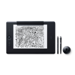 Wacom Intuos Pro Paper graphic tablet Black 5080 lpi 311 x 216 mm USB/Bluetooth