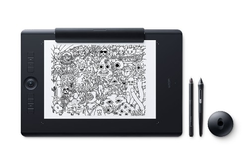 Wacom Intuos Pro Paper graphic tablet Black 5080 lpi 311 x 216 mm USB/Bluetooth