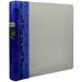 Guildhall GLX Ergogrip Binder Capacity 400 Sheets 4x 2 Prong 55mm A4 Frost Cobalt Blue Ref 4542 [Pack 2]