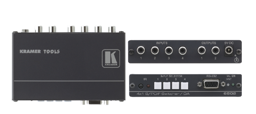 Kramer Electronics 6502 Black