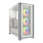 Corsair iCUE 4000X RGB Midi Tower White CC-9011205-WW