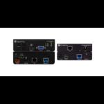 Atlona 4K-HDVS-EXT AV transmitter & receiver Black AV extender