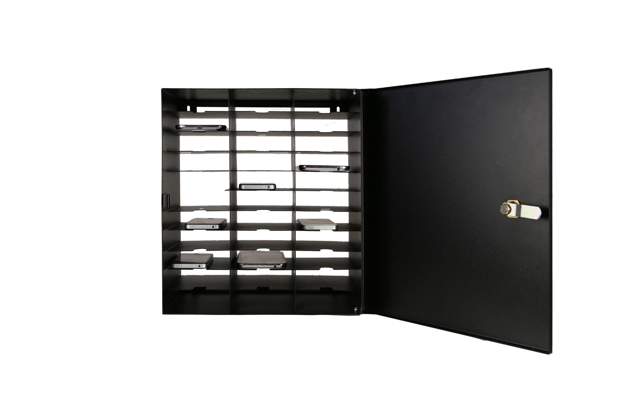Leba NoteBox Mobile Portable device management cabinet Black