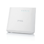 Zyxel LTE3202-M437 wireless router Gigabit Ethernet Single-band (2.4 GHz) 3G 4G