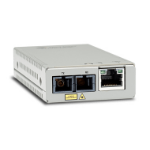 Allied Telesis AT-MMC200LX/SC-TAA-60 network media converter 100 Mbit/s 1310 nm Grey