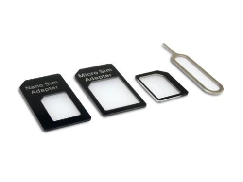 Sandberg SIM Adapter Kit 4in1