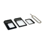 Sandberg SIM card adapter kit 4in1