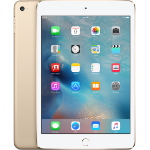 Apple iPad mini 4 128GB Gold,White tablet