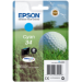 Epson Golf ball Singlepack Cyan 34 DURABrite Ultra Ink