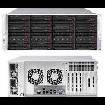 Supermicro SuperServer 6049P-E1CR24H C624 LGA 3647 (Socket P) Rack (4U) Black
