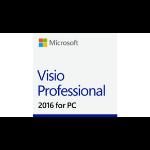 Microsoft Visio Professional 2016, 1u