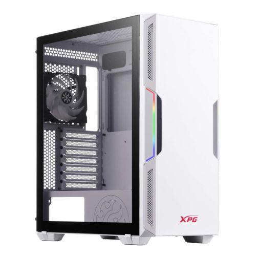 ADATA XPG Starker ARGB Compact Gaming Case w/ Glass Window ATX Front ARGB Lighting Strips 2 Fans (1 RGB) L