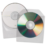 3L Value 3L CD/DVD Pockets Non-Adhesive 10291 (PK25)