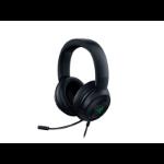 Razer Kraken V3 X Headset Head-band USB Type-A Black RZ04-03750100-R3M1