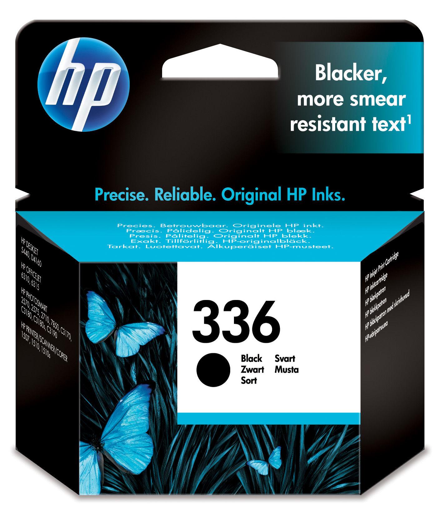 HP 336 Original Zwart 1 stuk(s)