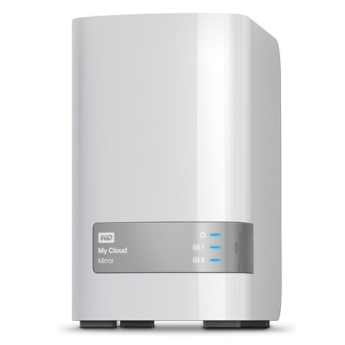 Western Digital My Cloud Mirror 6TB Ethernet LAN White personal cloud storage device