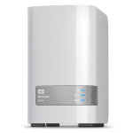 Western Digital My Cloud Mirror 8TB Ethernet LAN White personal cloud storage device
