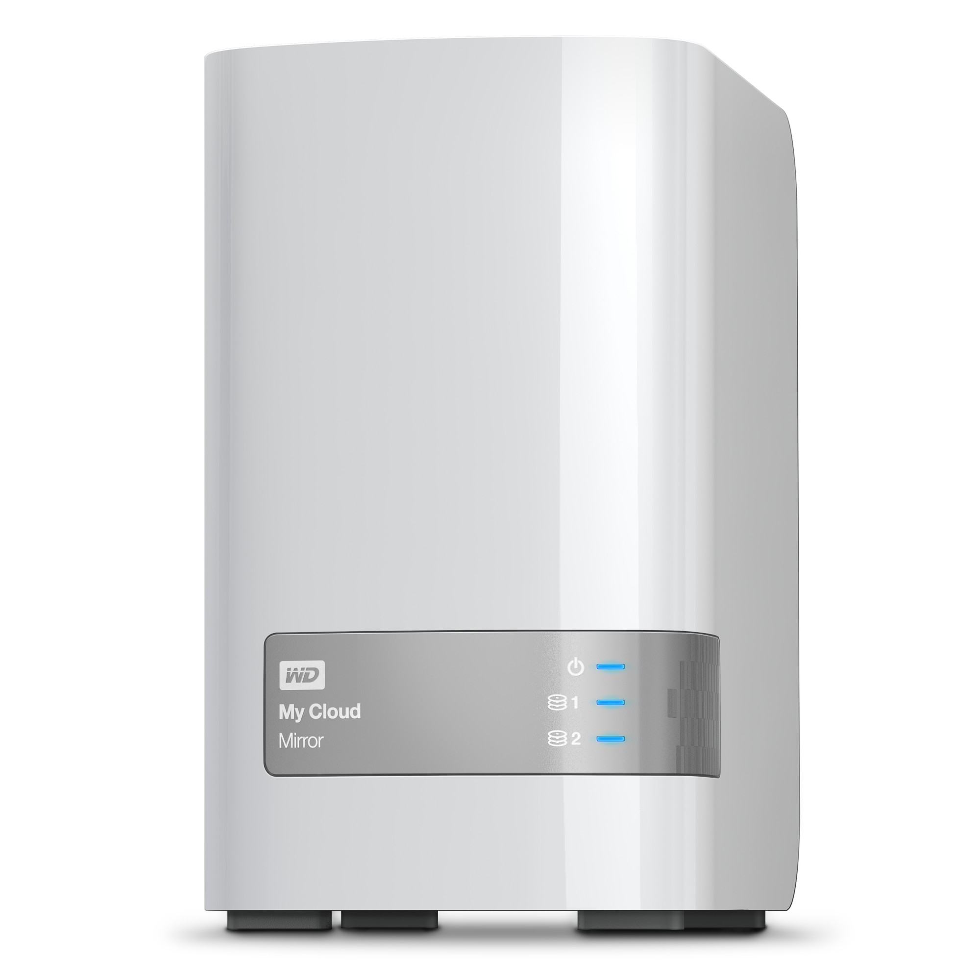 Western Digital My Cloud Mirror 8TB Ethernet LAN White personal cloud storage device