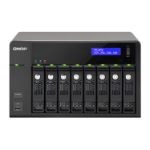 QNAP TS-870 NAS Tower Ethernet LAN Black storage server