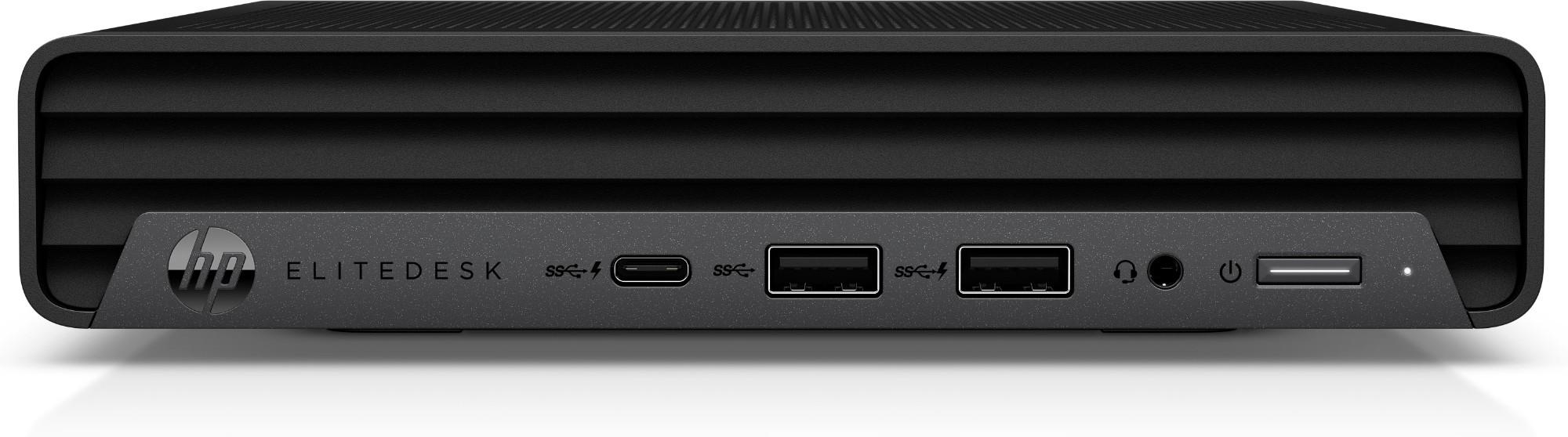 HP EliteDesk G6 DDR4-SDRAM i7-10700T mini PC 10th gen Intel-� Core��� i7 8 GB 256 GB SSD Windows 10 Pro Black