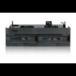 Icy Dock MB732SPO-B drive bay panel Black